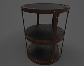 3D model CONNOR ACCENT TABLE
