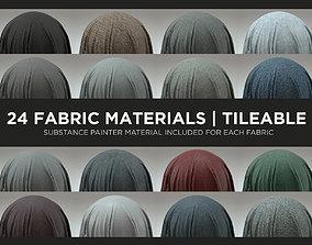 24 Fabric Materials - Part 1 3D model 3d