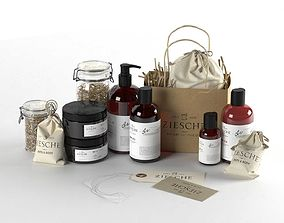 Body Care Cosmetics Collection by Ziesche 3D