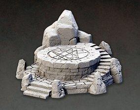 3D printable model Ritual altar