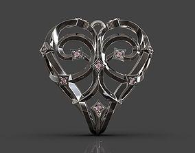3D print model Magerit heart