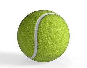 Tennis ball - Game Ready - VR AR 3D model