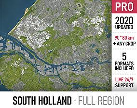 South Holland - full region 3D asset