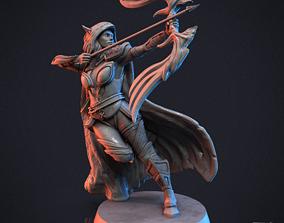 3D printable model Elf Archer