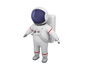3D model Astronaut Character suit