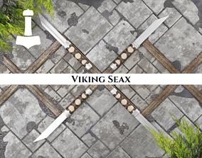 3D asset Ancient Viking Seax