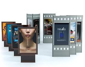 3D Advertising stands - Bilboard