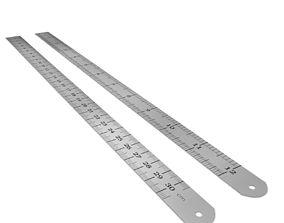 3D Metal Rulers