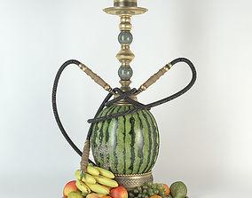 3D Watermelon hookah