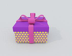 Gift Box PBR 3D model