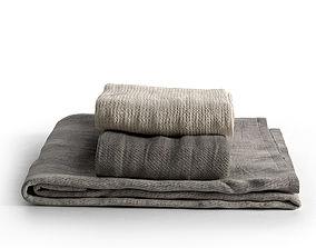 Towel Set 15 3D model