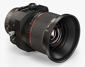 3D asset Rokinon 24mm F 3-5 ED AS UMS Tilt-Shift Lens for