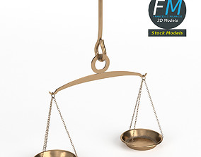 3D model Handheld balance scale