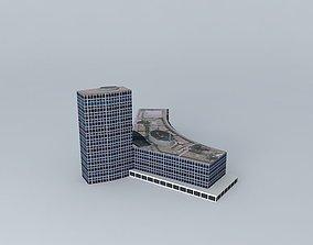 3D model Tour AXA Assurances