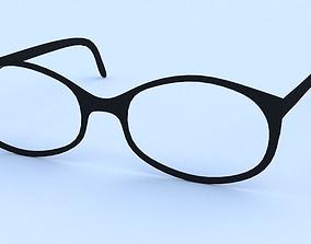3D model designer glasses