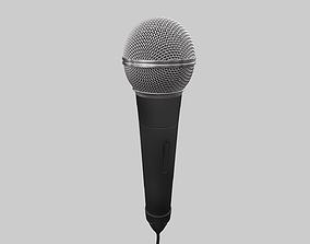 Microphone 3D model headset