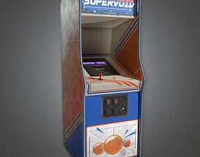 3D asset Arcade Cabinet 09 Arcades - PBR Game Ready