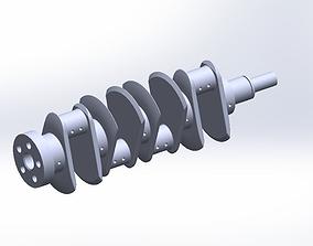 3D printable model Crank-Saft