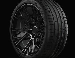 P ZERO PZ4 Pirelli Standart Profile Real World 3D model