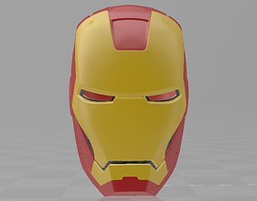 Iron Man Mark 3 MK3 Helmet Cosplay avengers 3D print model