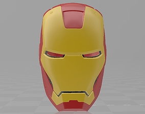 3D printable model Iron Man Mark 3 MK3 Helmet Cosplay 1