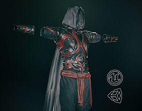 Male Assassin Outfit 1 3D asset