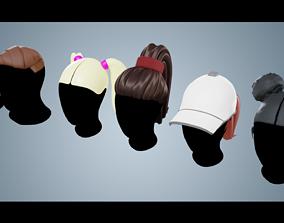 Base Haircuts 36-40 plus 3D model