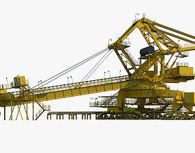3D model Industrial Machine 002