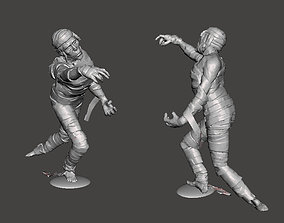 3D print model THE MUMMY toy soldier