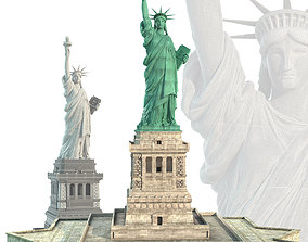 Statue of Liberty ny 3D