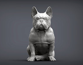 French Bulldog 3D print model souvenir
