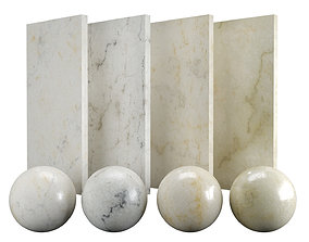 Beige Botticino Marble Texture PBR Vray Corona 3D asset 3