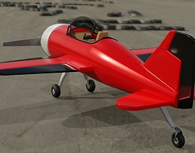 3D model Airplane Rigged