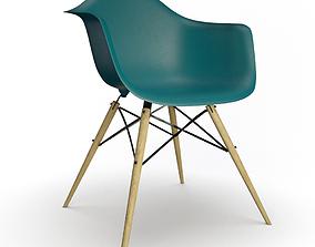 DAW Eames Plastic Chair 3D