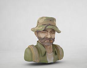 3D asset Captain Price
