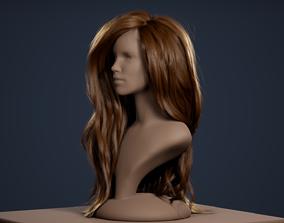 Alembic Hair Groom Plugin for Unreal Engine 4 3D model
