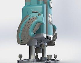 Makita PR 2301 FC milling machine woodworking 3D