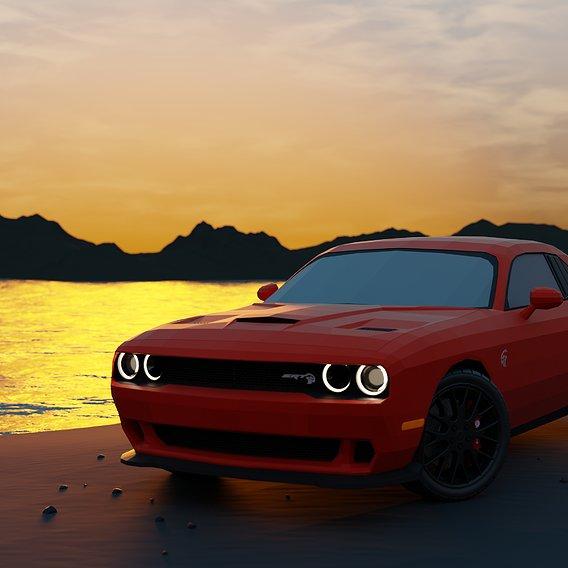 Dodge Challenger - Hellcat 2015