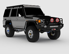 3D model 2014 Toyota Land Cruiser Fj70 Series GXL Off-road