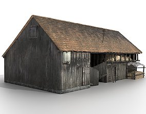 realtime Old Shack 3DS max PBR