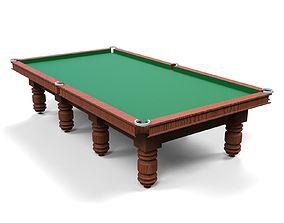 Billiards Table 3D print model