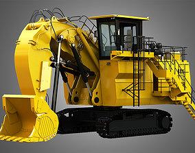3D model 6030 FS - Hydraulic Mining Shovel