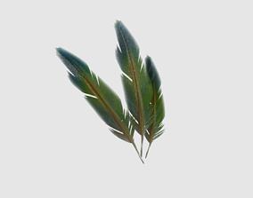 Feather 3D asset