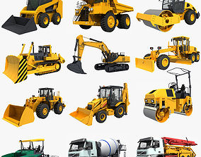 Collection Construction Vehicles 05 3D
