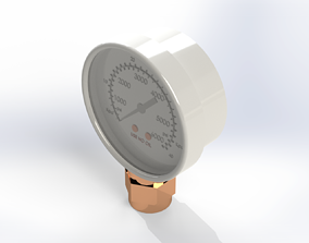 3D PRESSURE GAUGE INDICATOR