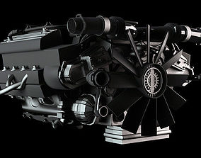 Car Engine 3D