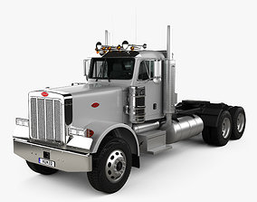 3D Peterbilt 378 Tractor Truck 2006