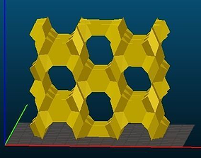 FER-type Zeolite 3D print model