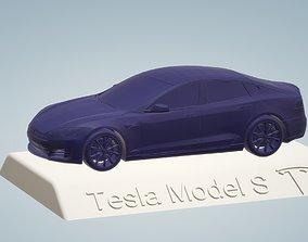 TESLA MODEL S CAR 3D PRINTING STL FILE
