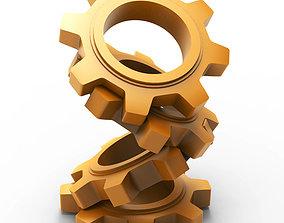 3D printable model Cogwheel pencil holder